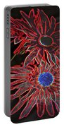 Bold Flowers  Portable Battery Charger