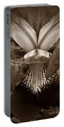 Bold Iris Sepia Portable Battery Charger