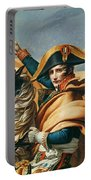 Bonaparte Crossing The Alps Oil On Canvas Detail Of 18491 Portable Battery Charger
