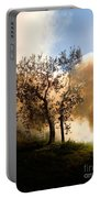 Bonfire And Olive Tree Portable Battery Charger