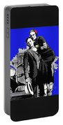 Bonnie And Clyde March 1933 1932 Ford V-8 B-400 Convertible Sedan 1933-2013 Portable Battery Charger