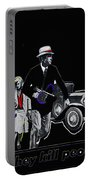 Bonnie And Clyde Poster 1967 Death Valley California 1968-2009 Portable Battery Charger