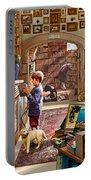 Bookshop Portable Battery Charger