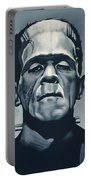 Boris Karloff As Frankenstein  Portable Battery Charger