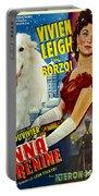 Borzoi Art - Anna Karenine Movie Poster Portable Battery Charger