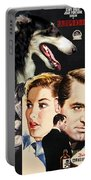 Borzoi Art - Suspicion Movie Poster Portable Battery Charger