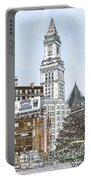 Boston Custom House Tower Portable Battery Charger