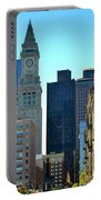 Boston Financial District Portable Battery Charger