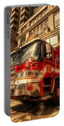 Boston Fire Truck  Portable Battery Charger