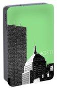 Boston Hancock Tower - Sage Portable Battery Charger