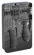 Boston Harbor Reflections Portable Battery Charger
