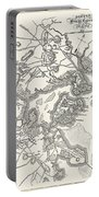 Boston: Map, 1775-1776 Portable Battery Charger