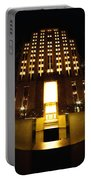 Boston - Night At Post Office Square Portable Battery Charger