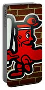 Boston Red Sox 1950s Logo Portable Battery Charger by Stephen Stookey