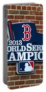 Boston Red Sox World Champions Portable Battery Charger