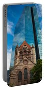 Boston Trinity Church Portable Battery Charger