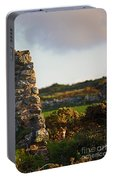 Botallack Fox At Sunset Portable Battery Charger