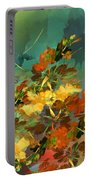 Botanical Fantasy 090914 Portable Battery Charger