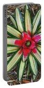 Botanical Flower Portable Battery Charger