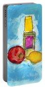Bottle Apple And Lemon Portable Battery Charger