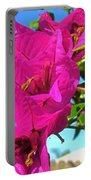 Bougainvillea Beauty Portable Battery Charger