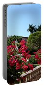 Bougainvillea Row Portable Battery Charger