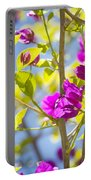 Bougainvillea Portable Battery Charger