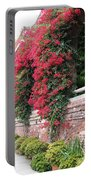 Bougainvillea Wall In San Francisco Portable Battery Charger