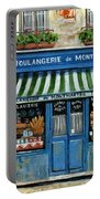 Boulangerie De Montmartre Portable Battery Charger