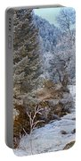 Boulder Creek Winter Wonderland Portable Battery Charger