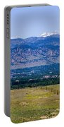 Boulder In The Summertime Portable Battery Charger