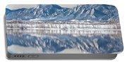 Boulder Reservoir Flatirons Reflections Boulder Colorado Portable Battery Charger