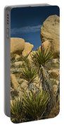 Boulders In The Joshua Tree National Park Portable Battery Charger