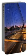 Bound For Greatness Portable Battery Charger by Evelina Kremsdorf