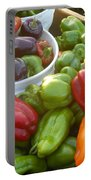 Bountiful Peppers Portable Battery Charger
