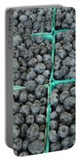 Bounty Of Blueberries Portable Battery Charger