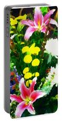 Bouquet Bounty Portable Battery Charger