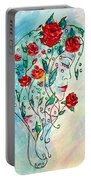Bouquet Of Love Portable Battery Charger