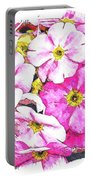 Bouquet Of Pink Portable Battery Charger