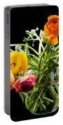 Bouquet Of Ranunculus Portable Battery Charger