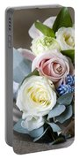 Bouquet Of Spring Flowers Portable Battery Charger