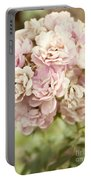 Bouquet Of Vintage Roses Portable Battery Charger