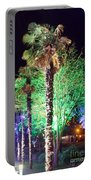Bournemouth Winter Gardens At Night Portable Battery Charger