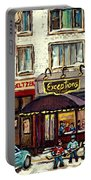 Boutique Mary Seltzer Dress Shop Cote St Luc Montreal Paintings Hockey Art City Scenes Cspandau Portable Battery Charger