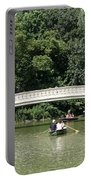 Bow Bridge And Row Boats Portable Battery Charger