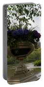 Bow Bridge Flowerpot And San Remo Nyc Portable Battery Charger