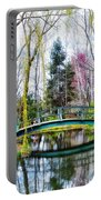 Bow Bridge - Grounds For Schulpture Portable Battery Charger