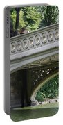 Bow Bridge Texture - Nyc Portable Battery Charger