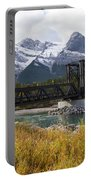 Bow River Railroad Trestle Portable Battery Charger