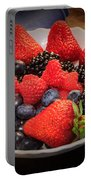 Bowl Of Fruit 1 Portable Battery Charger